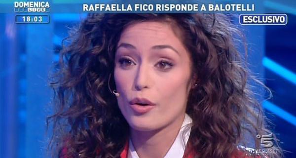 """Raffaella Fico a Domenica Live: """"Presto Mario Balotelli mi chiamerà e incontrerà sua figlia Pia"""""""