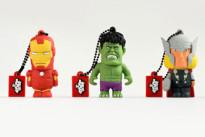 Tribe presenta le chiavette USB dei The Avengers e di Spiderman