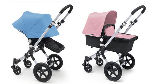 Passeggini Bugaboo: Soft Pink e Ice Blue sono i nuovi colori della Primavera 2014