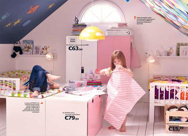 Cameretta Ikea Bambina : Camerette ikea per bambini ecco quelle proposte nel catalogo