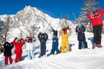 Ecco i consigli utili per insegnare a sciare ai bambini