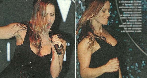 Lola Ponce incinta del secondo figlio si scatena in discoteca [Foto]