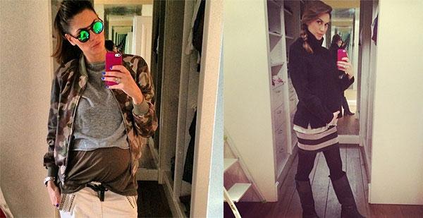 """Melissa Satta: """"Anche con il pancione si può essere fashion"""""""