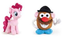 Mr. Potato e My Little Pony tornano in versione peluche grazie a Famosa