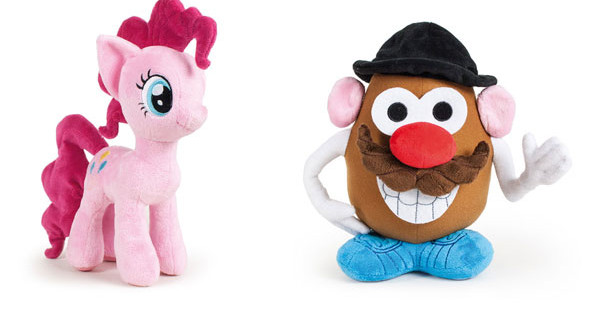 Mr. Potato e My Little Pony tornano in versione peluche grazie a Famosa