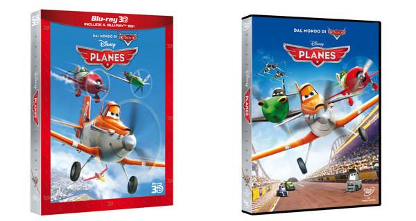 Disney Planes arriva a casa tua: esce oggi l'edizione DVD. Blu-Ray e 3D