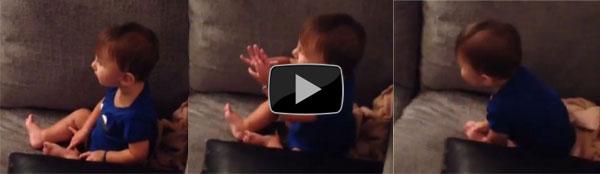 Il nuovo video di Belen Rodriguez: il piccolo Santiago balla a ritmo di musica rap. Guardalo qui [Video]