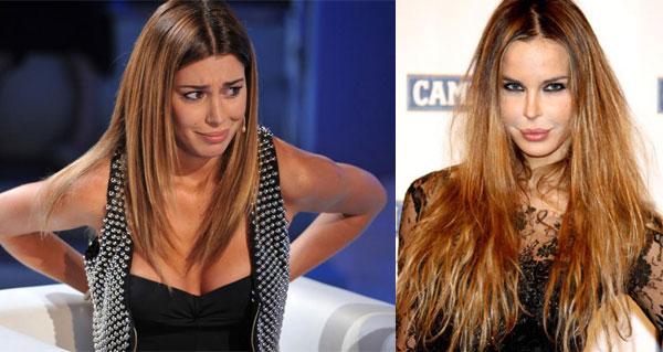 """Nina Moric attacca Belen Rodriguez: """"Sei solo un'esibizionista, io sono meglio di te"""""""