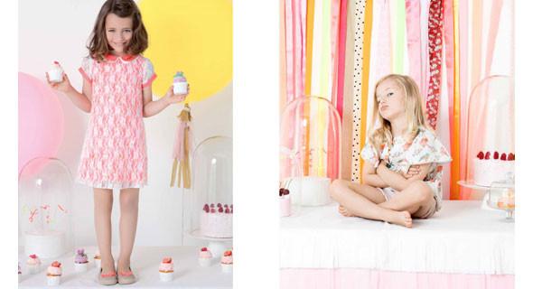 Billieblush, nuova collezione per bambina: protagonisti gli abiti floreali