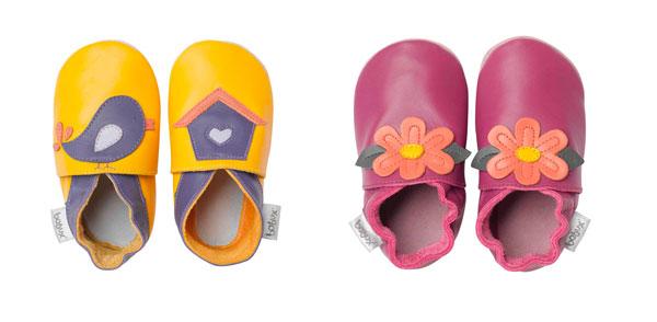 Bobux: le fresche babbucce per bambini dai disegni primaverili