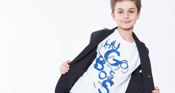 Collezione PE 2014 Boss di Hugo Boss: lo stile di uomo in versione bambino