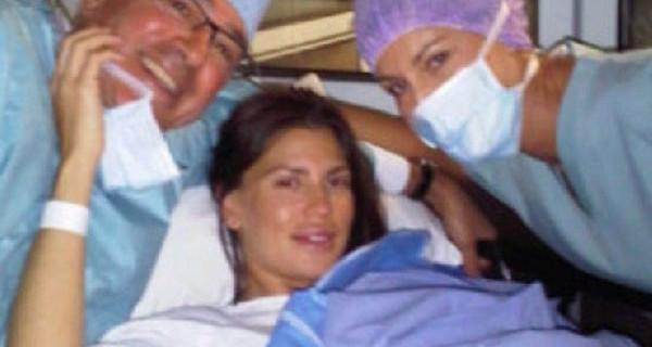 Claudia Galanti ha partorito: è nata la sua terza bambina, Carolina Sky
