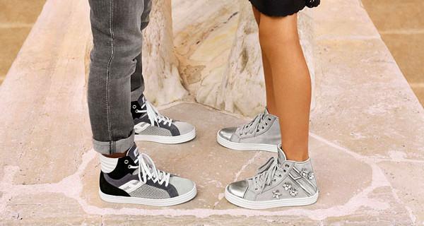 Hogan Junior: le sneakers Hi top protagoniste della campagna SS 2014