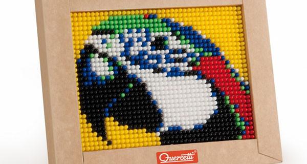 Mini Pixel Art di Quercetti: ritratti perfetti per la cameretta dei bimbi
