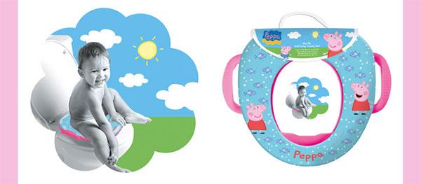 Anche il bagno si colora di Peppa Pig, ecco i nuovi simpatici accessori