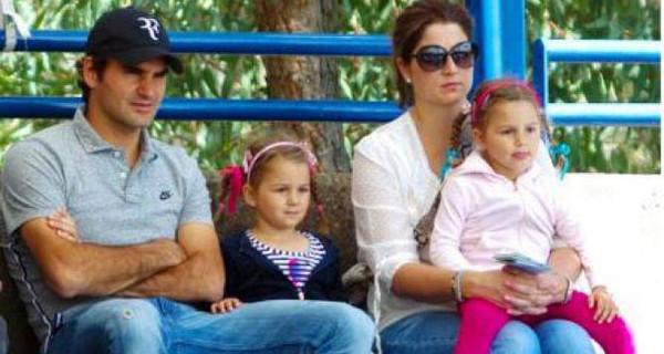 Roger Federer di nuovo papà? La moglie Mirka sarebbe incinta di due gemelli