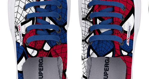 Superga di Spider-Man: le scarpe con cui i bambini danno il benvenuto alla Primavera
