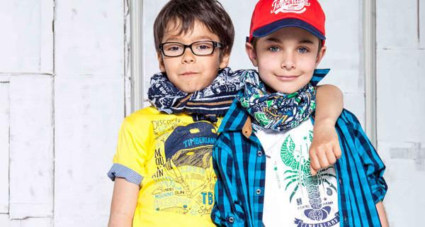 Timberland Kids: la bellissima collezione per la Primavera Estate 2014