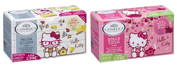 Tisane di Hello Kitty: perfette per ogni momento della giornata
