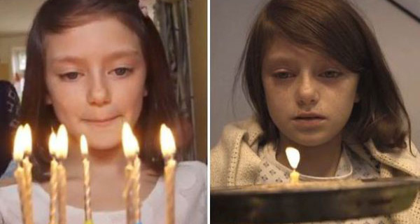 Save The Children, video shock: la vita di una bambina prima e dopo la guerra