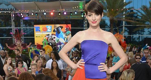 """Anne Hathaway torna con Rio 2, Don Peyote e Interstellar: """"Mi piace provare paura"""""""