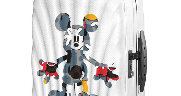 Samsonite e Disney al Salone del Mobile con le nuove valigie in Limited Edition
