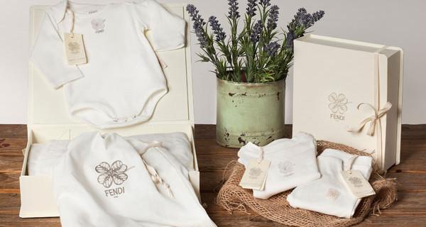 Fendi Kids, la prima collezione in cotone organico per bambini da 0 a 24 mesi
