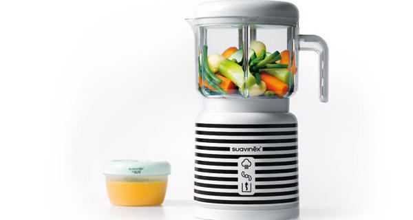 Link di Suavinex: il robot da cucina che pensa all'alimentazione dei bambini dallo svezzamento
