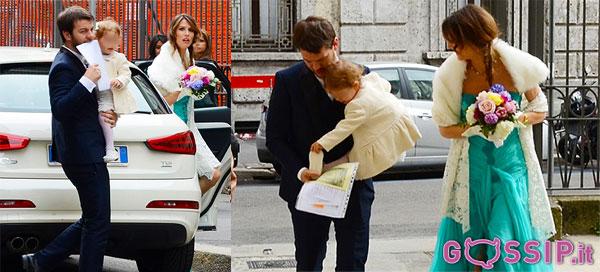 Alessandro Cattelan sposa Ludovica Sauer: alla cerimonia anche la piccola Nina