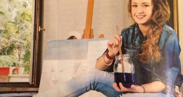 """Domiziana Giovinazzo è Elena Martini in Un Medico in Famiglia 9: """"Adoro dipingere e sogno di fare l'attrice per sempre"""""""