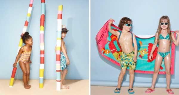 costumi da bagno per bambini i modelli colorati di du pareil au meme