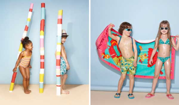 Costumi Da Bagno Per Bambini : Costumi da bagno per bambini: i modelli colorati di du pareil au