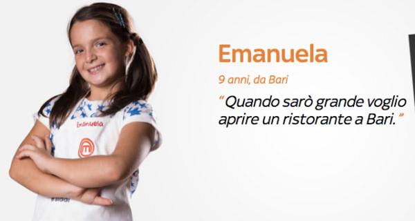 Emanuela vince la prima edizione di Junior MasterChef Italia: 9 anni e talento da vendere!