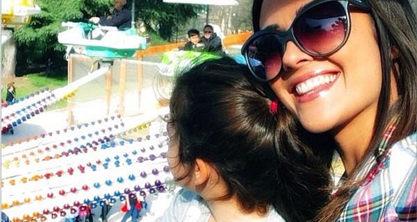 Giorgia Palmas: una mamma al settimo cielo con la piccola Sofia