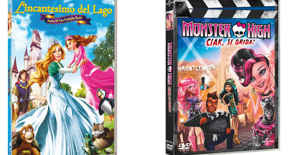 Incantesimo del Lago e Monster High: le nuove uscite home video della Universal Pictures