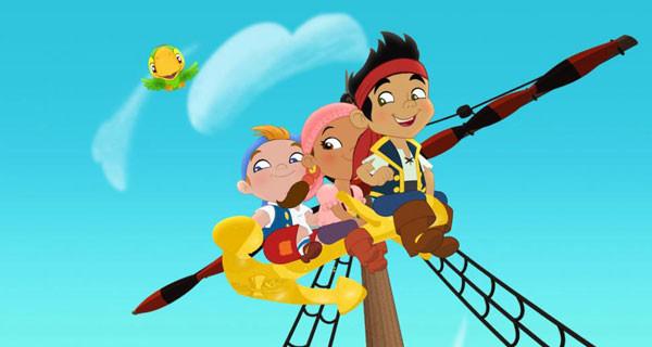 """Torna """"Jake e i Pirati dell'Isola che Non C'è"""" su Disney Junior: i bambini preferiscono le avventure"""