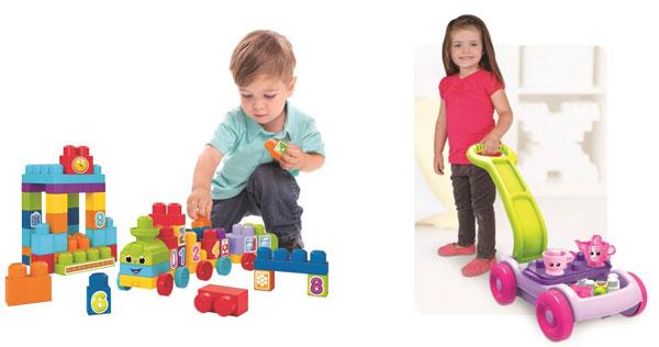 Mega Bloks: i mattoncini per i giochi dei Baby Ingegneri