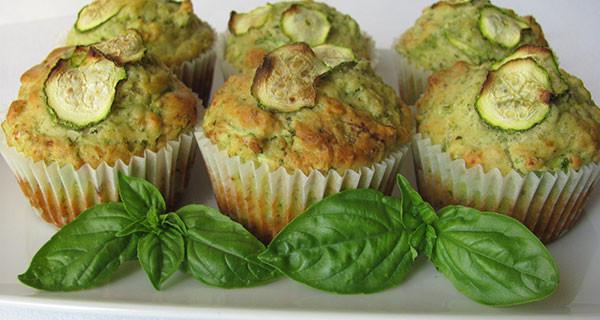 Ricette per bambini: i muffin salati alle zucchine