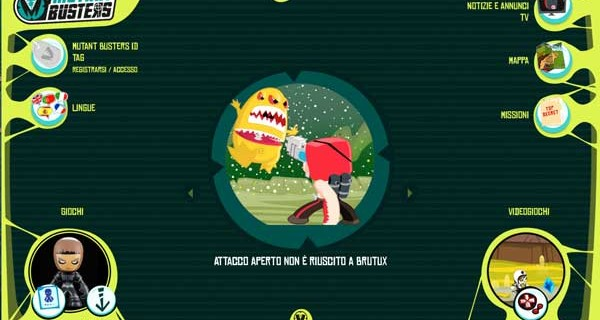 Mutant Busters, i personaggi che insegnano ai bambini il rispetto per la natura