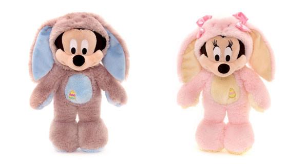 Peluche Minnie e Topolino al profumo di cioccolato: perfetti per Pasqua