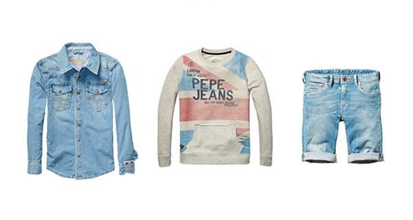 Pepe Jeans London collezione Primavera Estate 2014: look casual e sportivo per i bambini