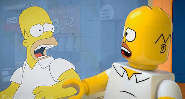 "I Simpson si trasformano in LEGO: arriva l'attesissima puntata ""Brick Like Me"""