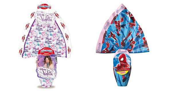 Uova di Pasqua Disney: ecco quelle di Violetta, Frozen, Spider-Man, Cars e Planes