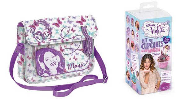 Gli accessori di Violetta per vere V-Lovers: borse, smalti, t-shirt e molto altro
