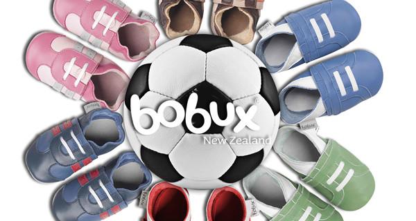 Bobux: le babbucce per bambini si colorano per i Campionati Mondiali di Calcio