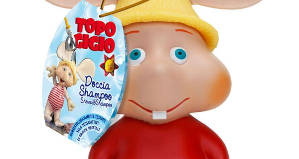 Detergente Mani Corpo e Capelli di Topo Gigio per il bagnetto dei bambini