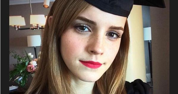 Emma Watson si è laureata: la maghetta di Harry Potter è Dottoressa in Letteratura