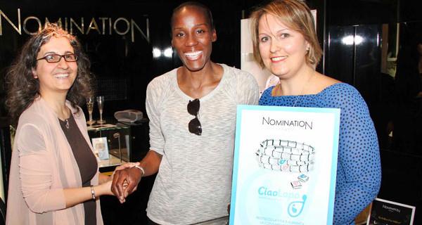 Nomination e Fiona May insieme per aiutare le mamme