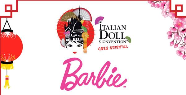Italian Doll Convention Milano: Barbie e Ken sfilano con abiti orientali