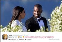 Kim Kardashian e Kanye West si sono sposati a Firenze con la loro bimba North. Prime Foto